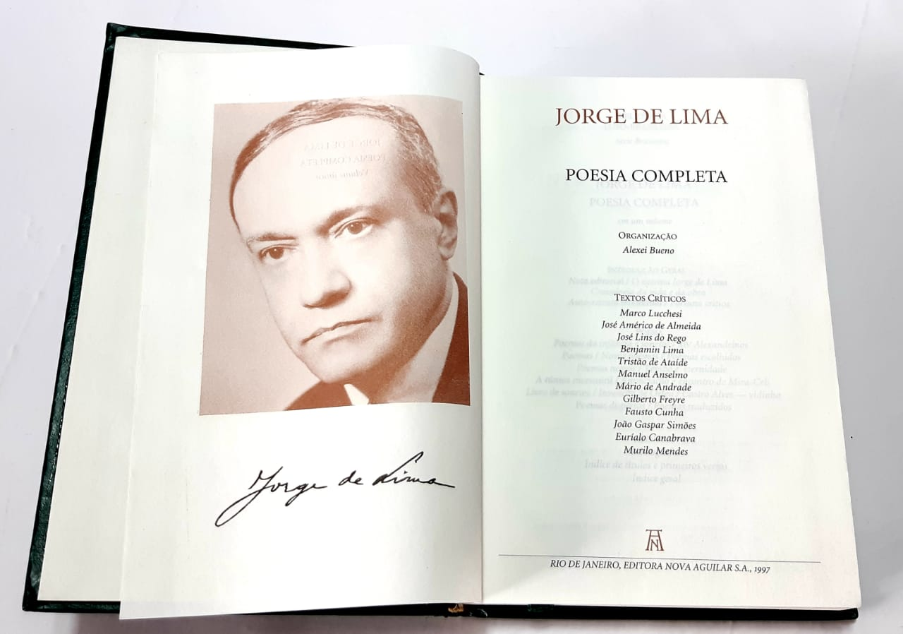 Jorge de Lima - Poesia completa - Nova Aguilar