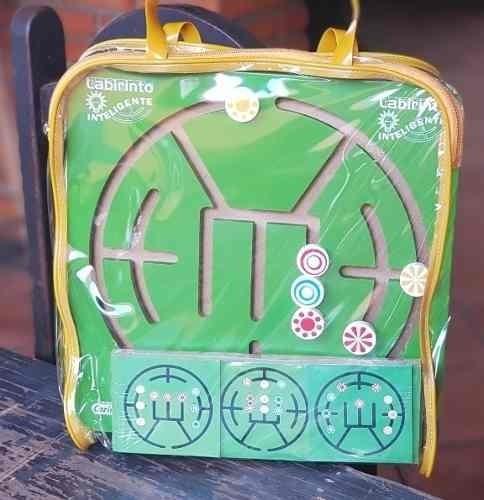 Labirinto Inteligente - Brinquedo Pedagógico Educativo
