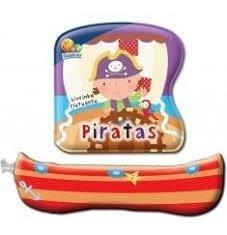 Livrinho Flutuante Piratas - Para Bebês