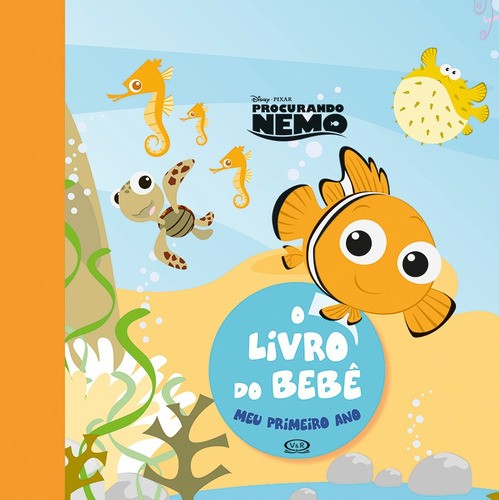 Livro Do Bebê: Meu Primeiro Ano! - Guia Para Guardar As Lembranças Do Bebê
