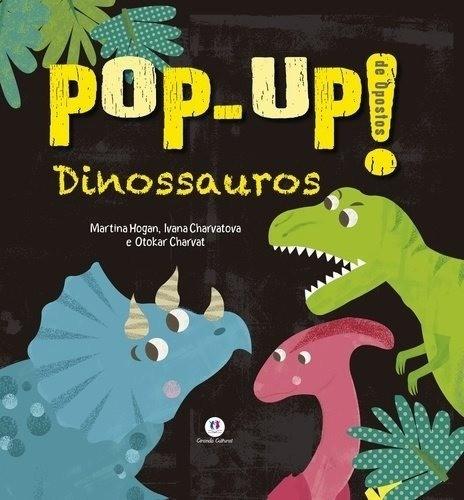 Livro Educativo Pop-Up : Dinossauros