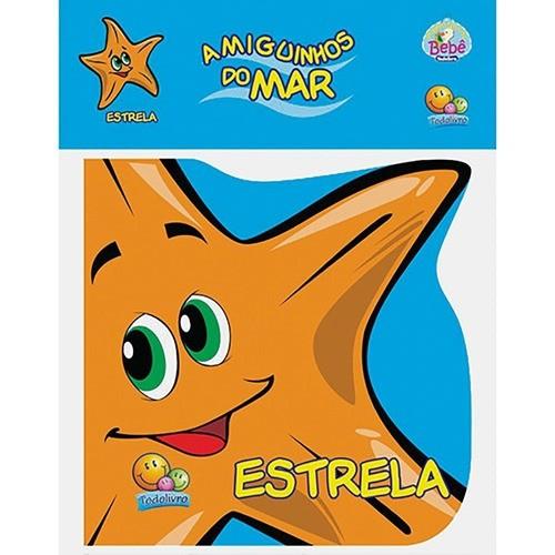 Livro Para Bebês Estrela-Do-Mar: Livro De Banho