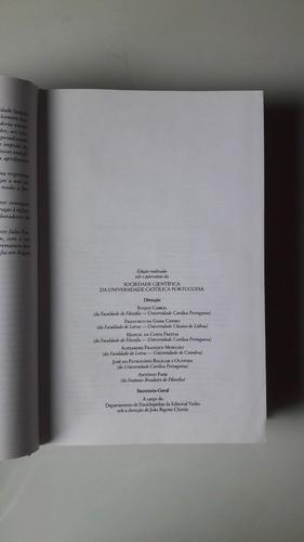Logos: Enciclopédia Luso-Brasileira De Filosofia - Verbo
