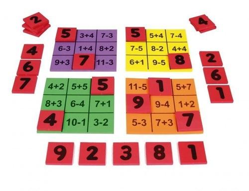 Loto Aritmética - Trabalha A Adição E A Subtração - 50 Peças