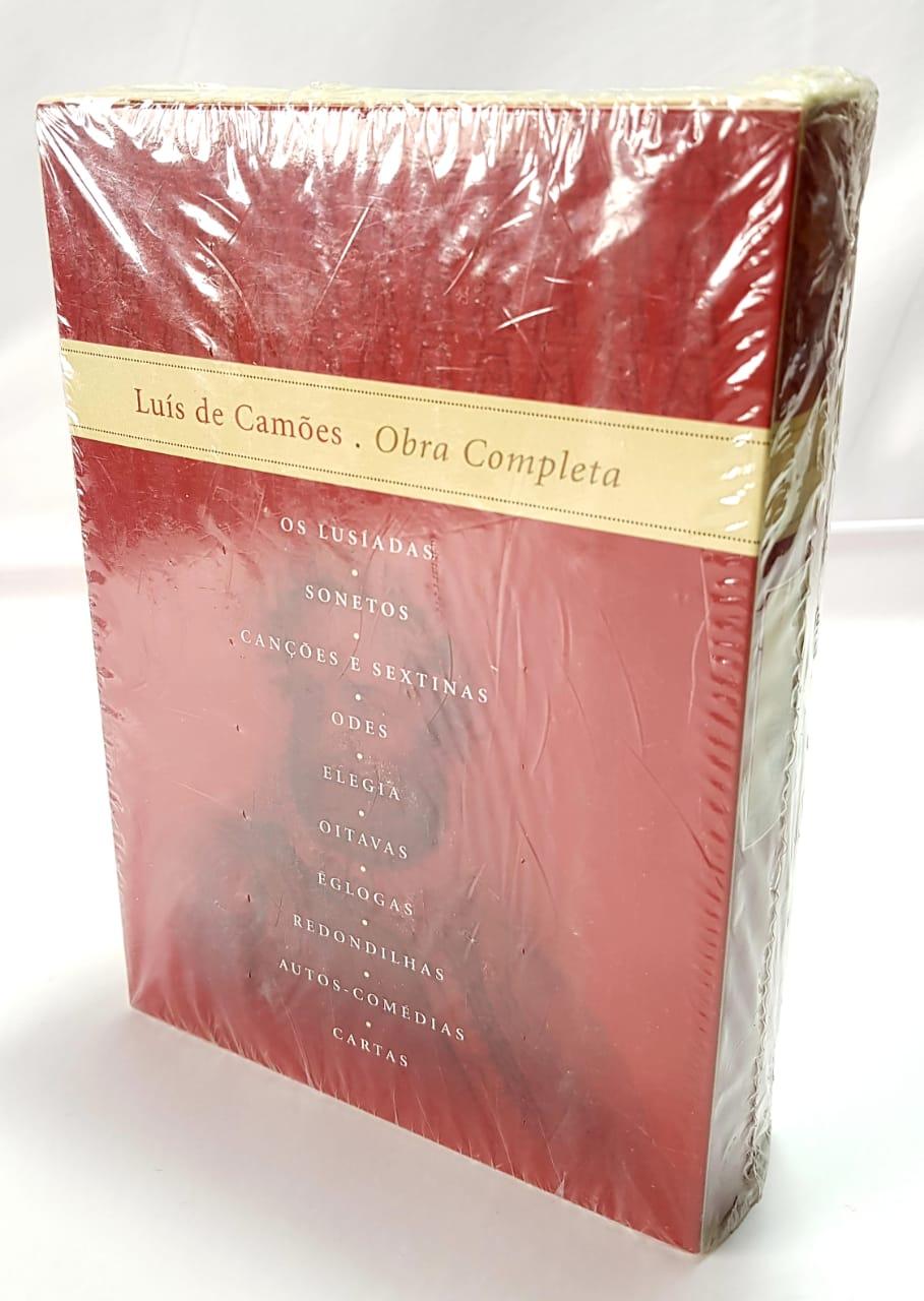 Luís de Camões -  Livro Novo - Editora Nova Aguilar