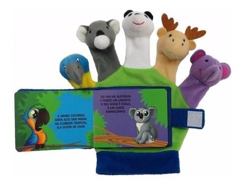 Luvinha Com Dedoches: Animais Do Mundo- Livro + Dedoches