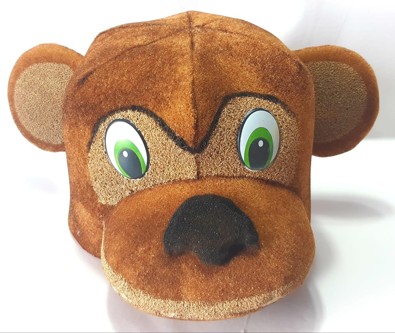 Macaco - Chapéu de espuma - Estimula a imaginação