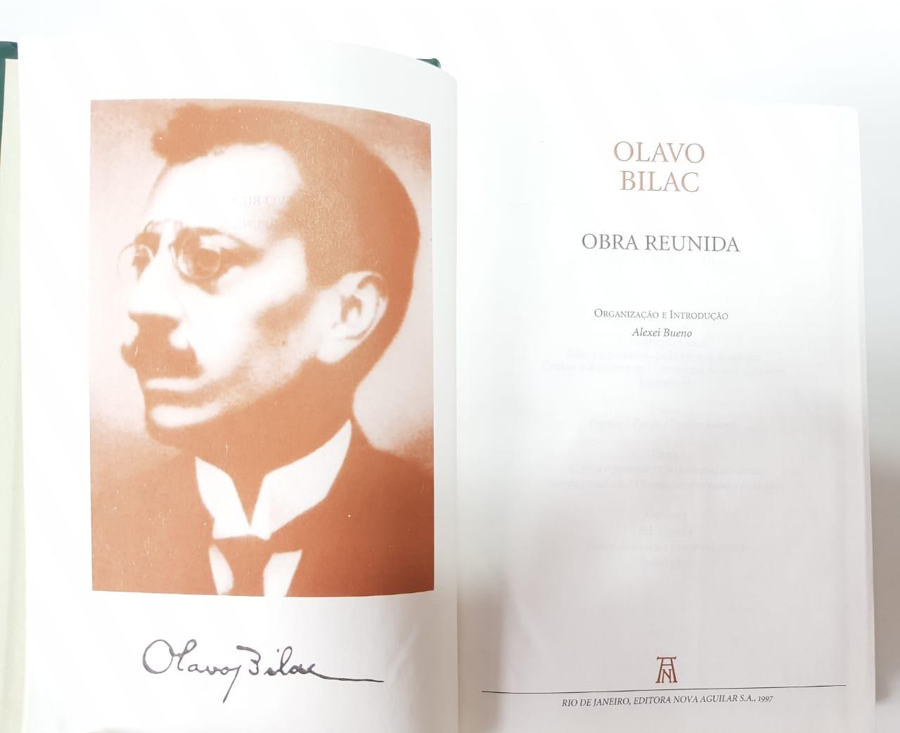 Olavo Bilac / Obra Reunida / Nova Aguilar