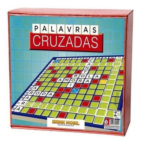 Palavras Cruzadas - Estimula A Escrita Correta Das Palavras - Em Madeira