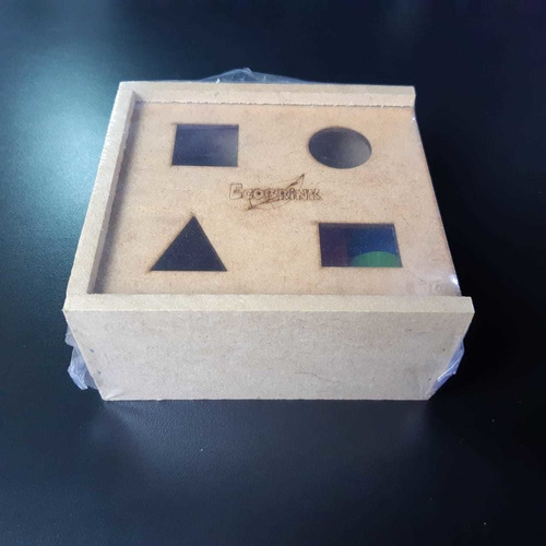 Brinquedo Passa Forma Geométrico - Estimula A Psicomotricidade