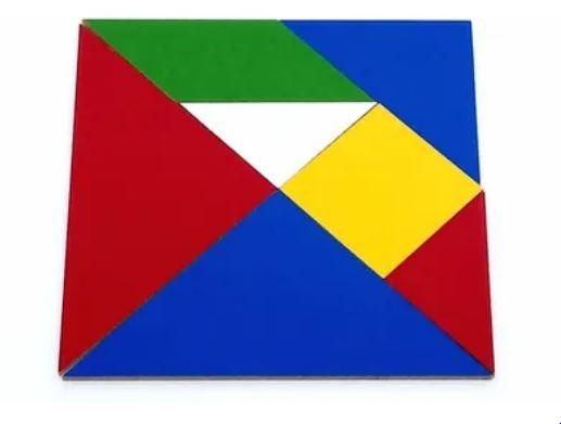 Tangram- 5 Jogos - Em Madeira - 35 Peças
