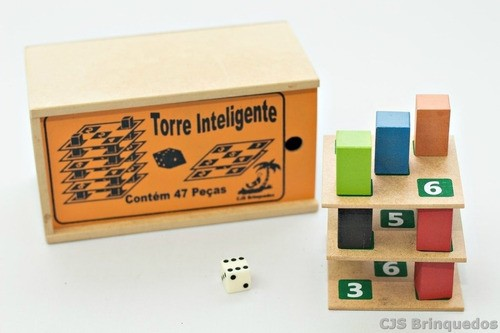 Torre Inteligente - Jogo Matemático E De Equilíbrio