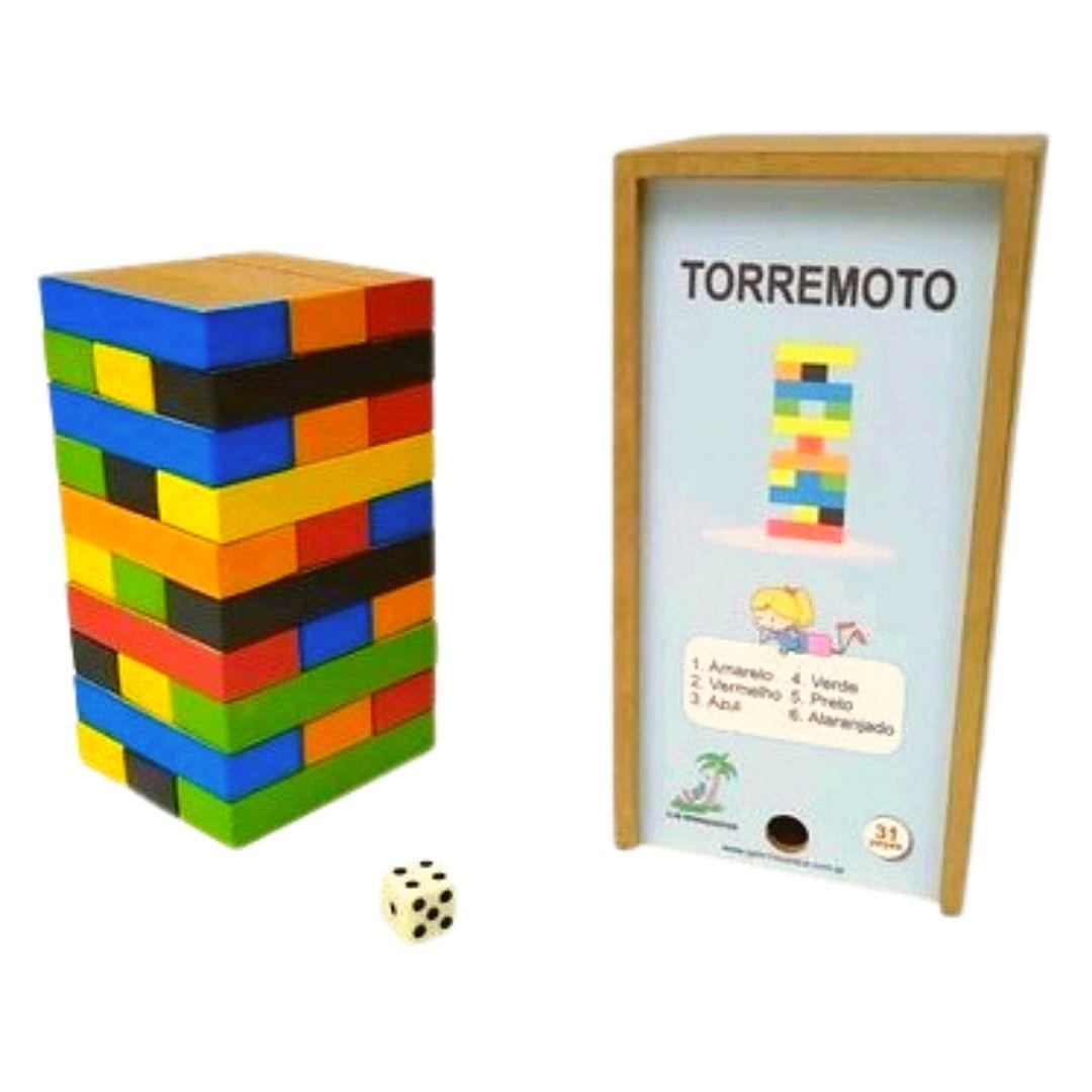 Torremoto - Brinquedo de equilíbrio