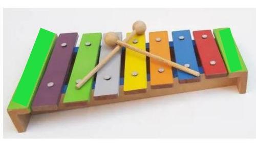 Xilofone- Instrumento Musical Em Madeira