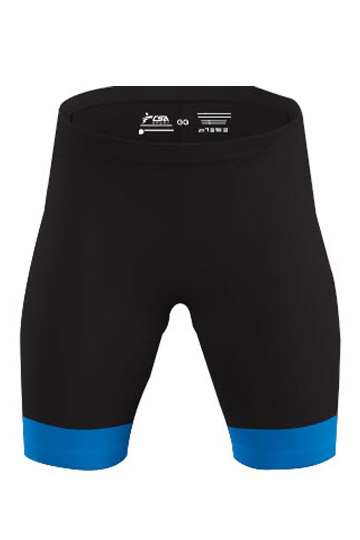 Bermuda Ciclista Race CSA Sport Masculina Preto com Azul