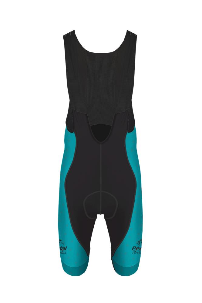 Bretelle Ciclista Race Pedal Só Delas Masculino Preto-Azul