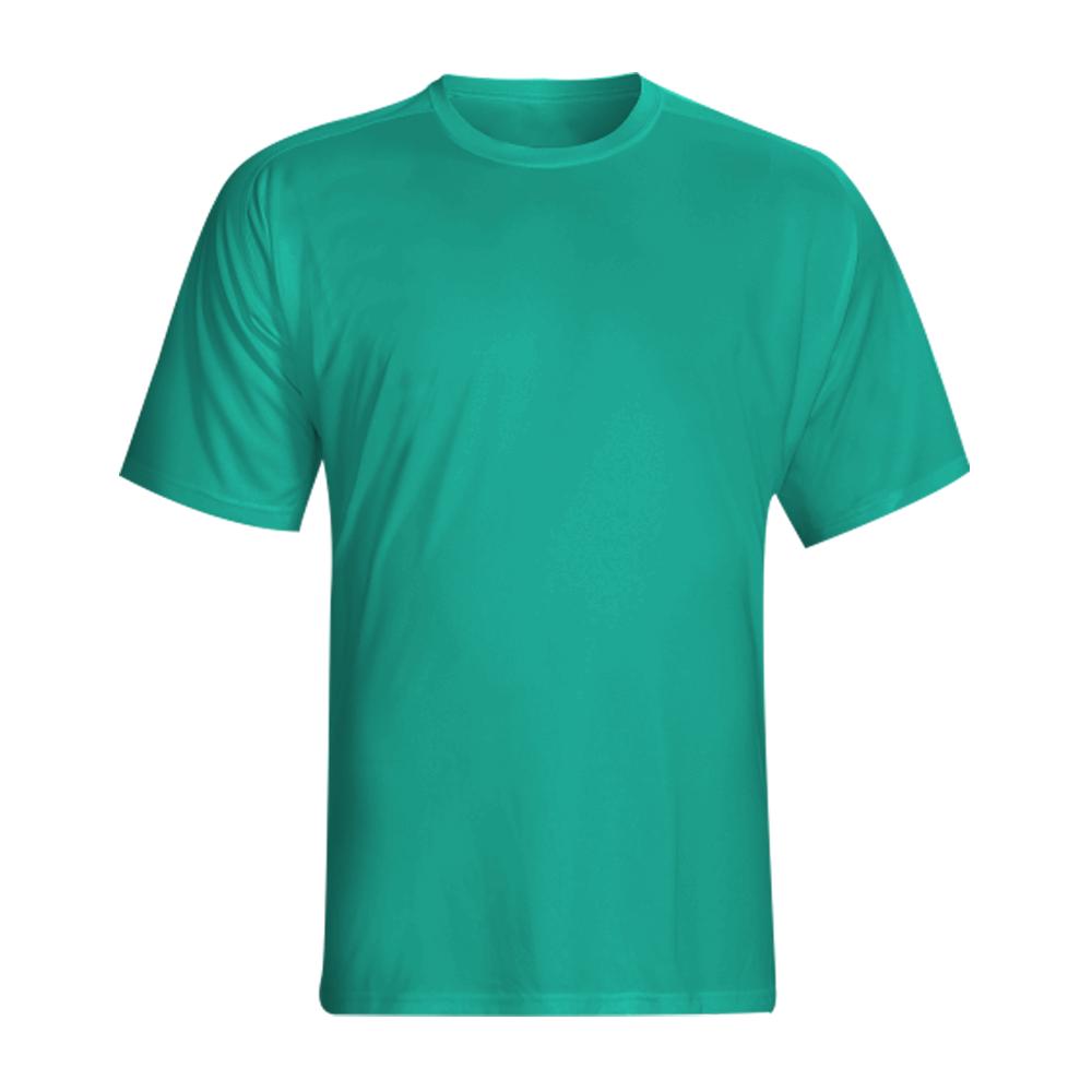 Camisa Básica Masculina Manga Curta Gola Careca