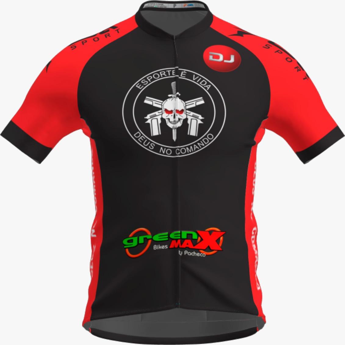 Camisa Ciclista Race CSA Sport DJ Kalyfornia Masculina