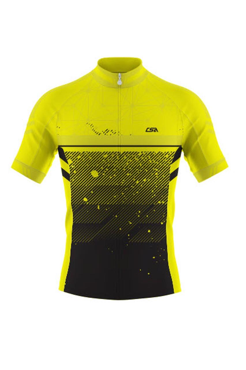 Camisa Ciclista Race CSA Sport Masculina Manga Curta VD