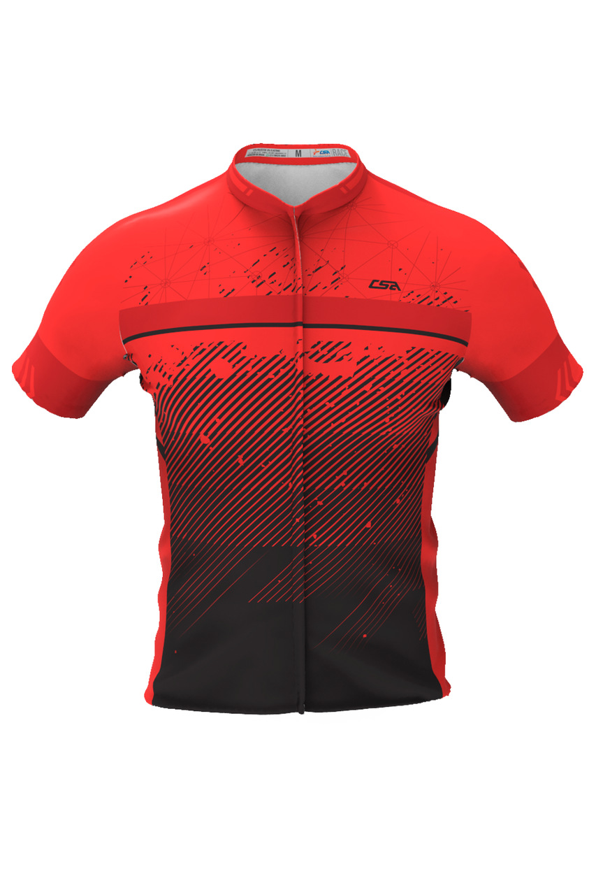 Camisa Ciclista Race CSA Sport Masculina Manga Curta VM