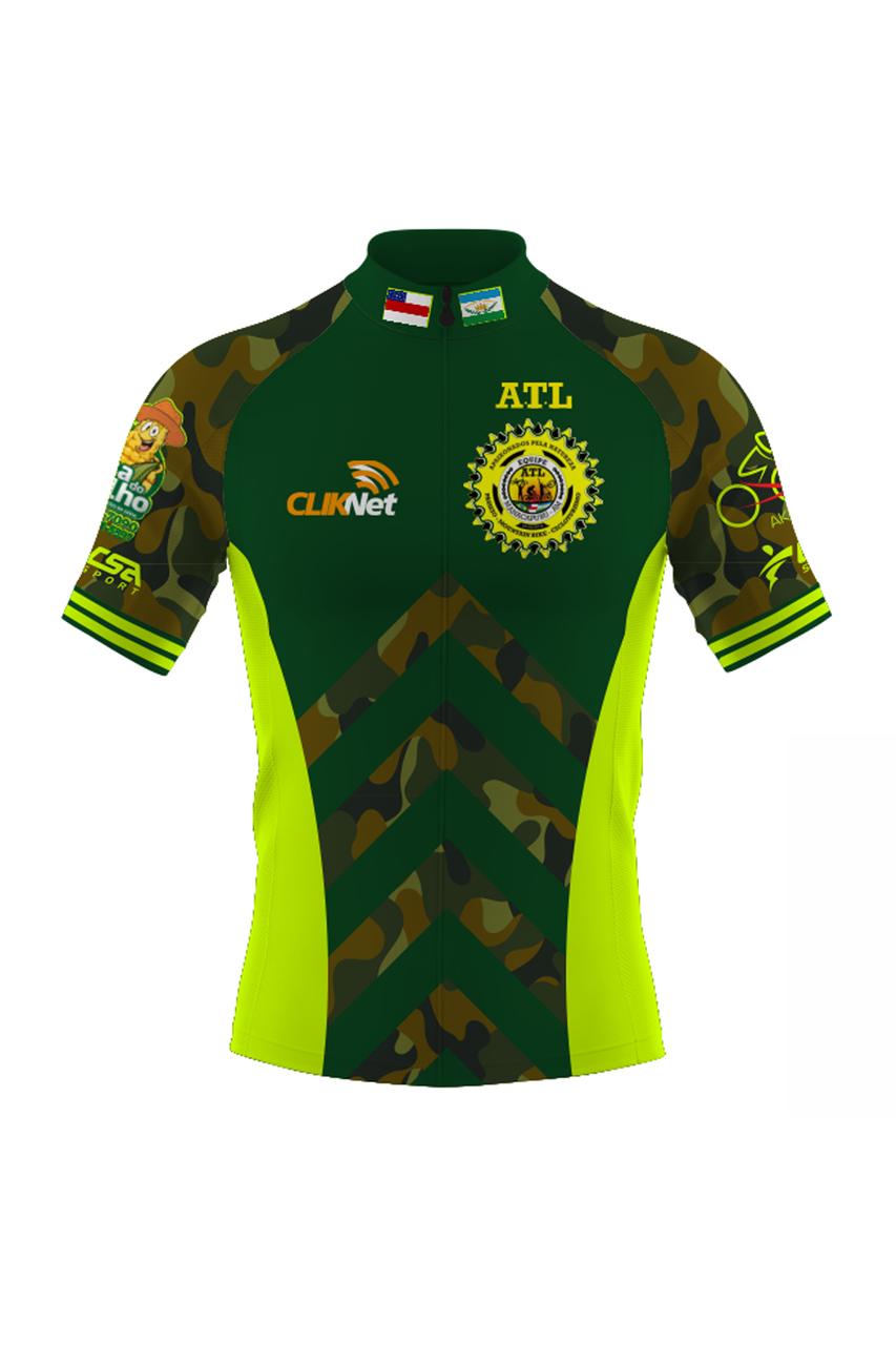Camisa Ciclista Tour CSA Sport Manacapuru Masculina