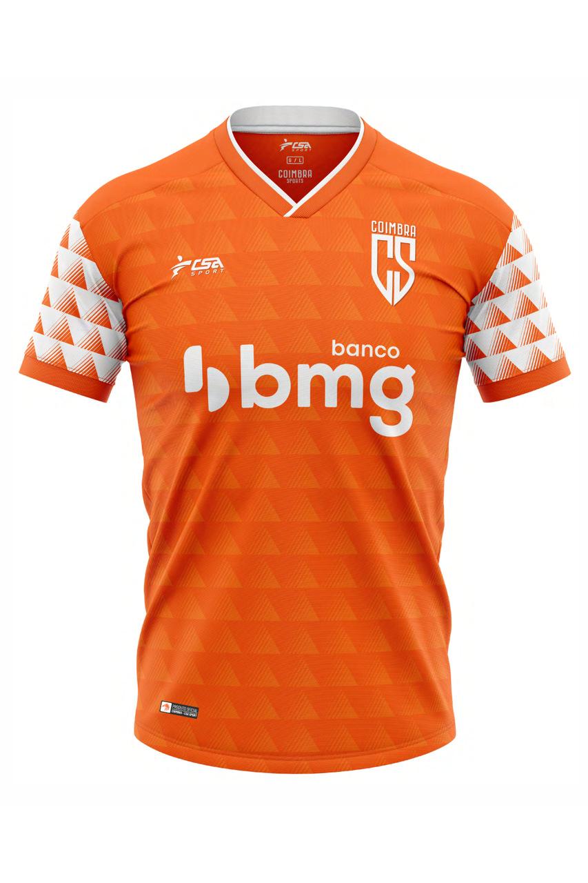 Camisa Oficial Coimbra Jogo I 2021 CSA Sport