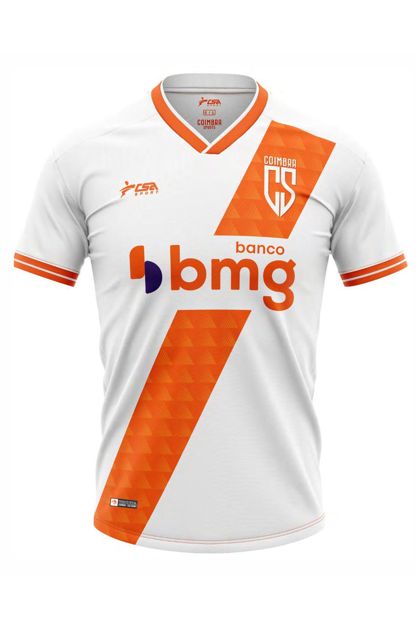 Camisa Oficial Coimbra Jogo II 2021 CSA Sport
