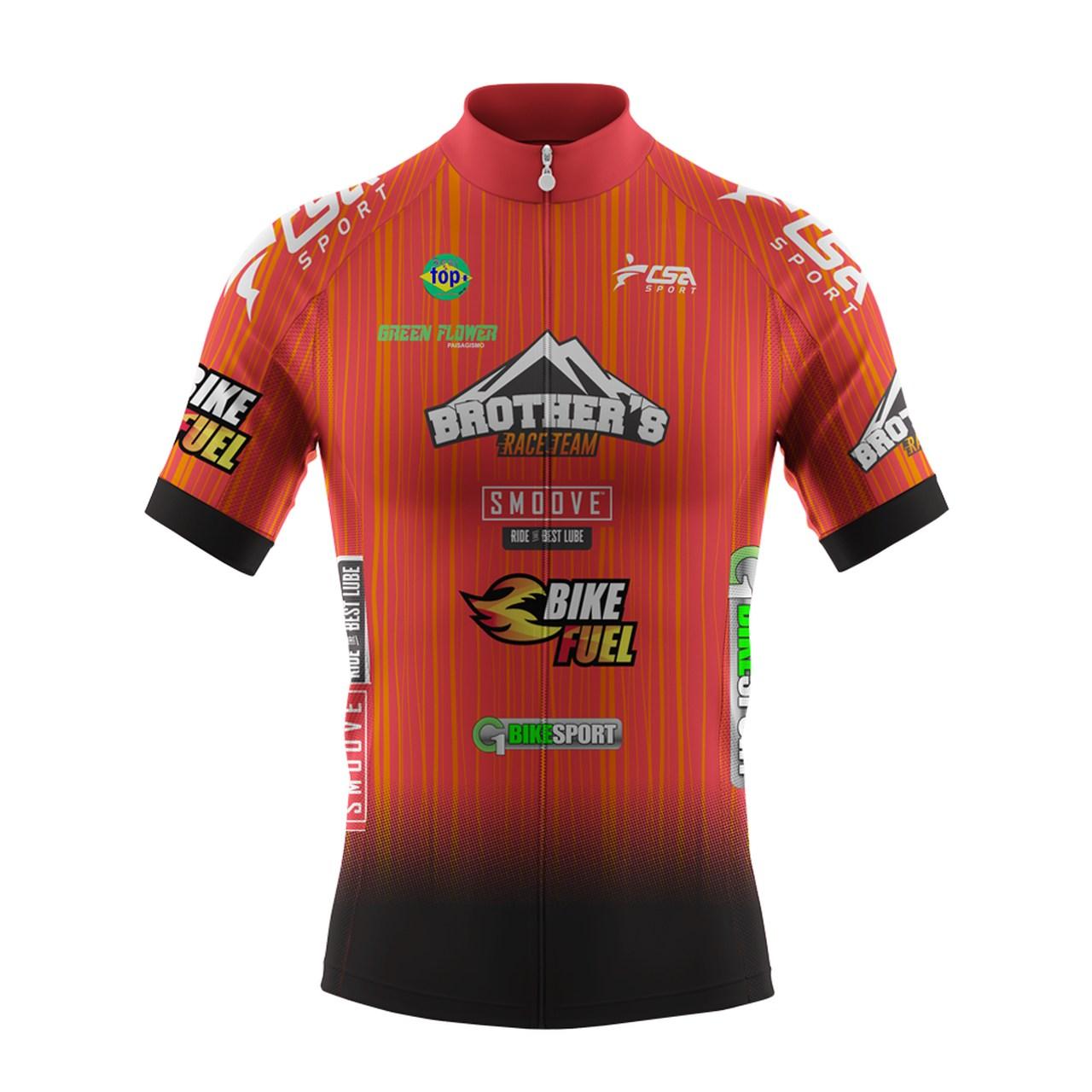 Camisa Personalizada Brother's Race Team  - Mostruário CSA Sport