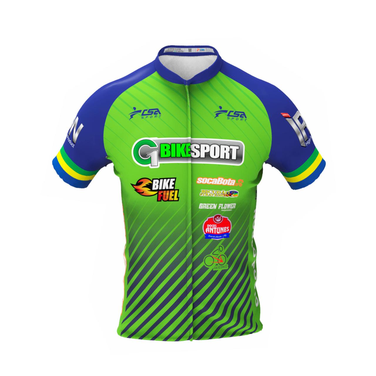 Camisa Personalizada G1 Bike Sport - Mostruário CSA Sport