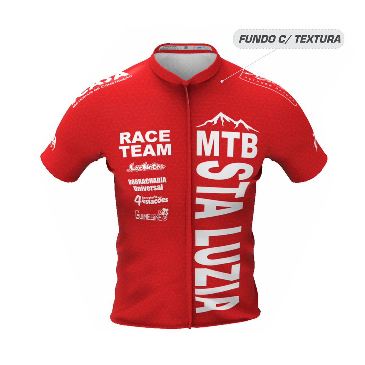 Camisa Personalizada MTB Santa Luzia  - Mostruário CSA Sport