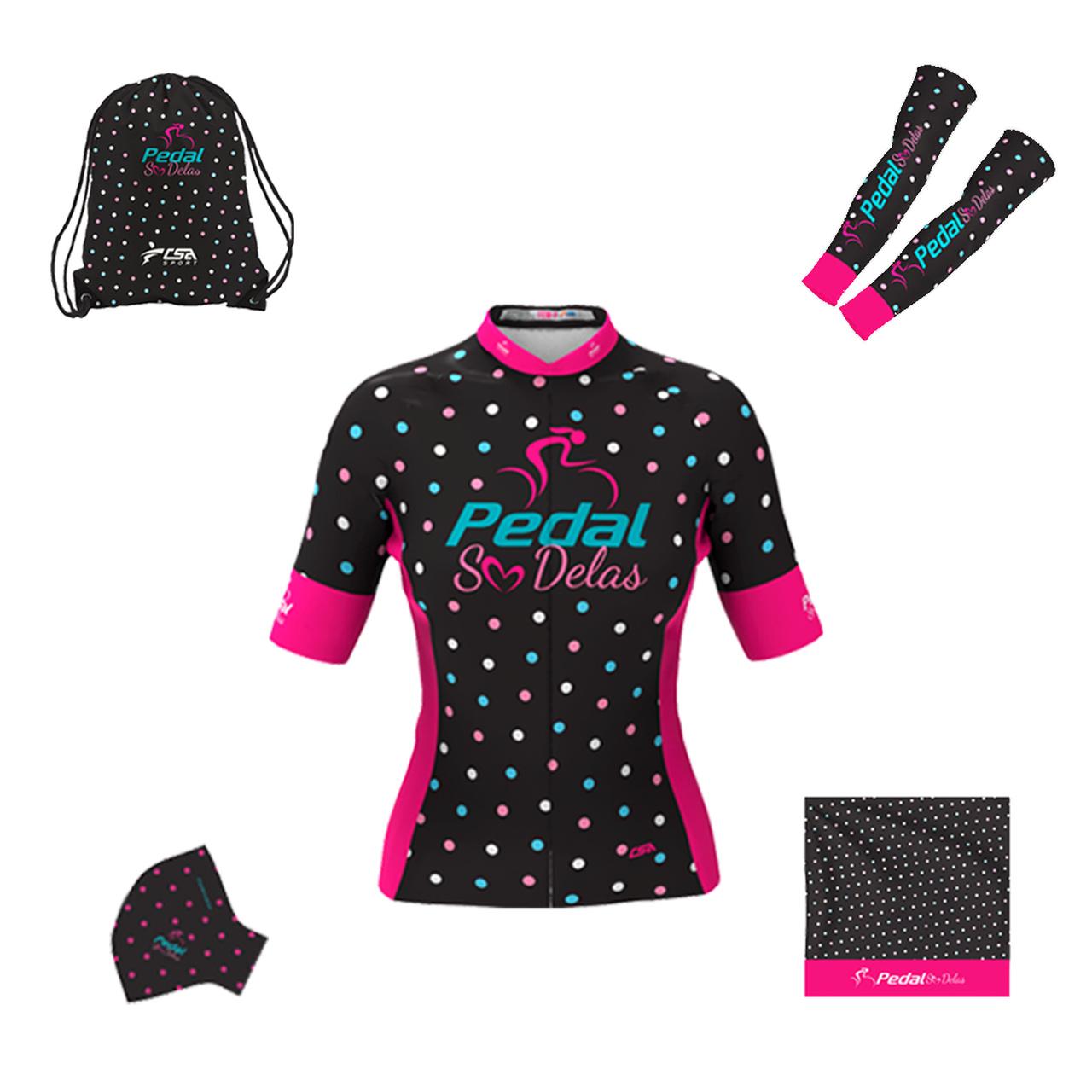 Kit Especial Pedal Só Delas