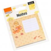Bloco de Recado Autoadesivo Smart Notes Gato 3 em 1 30Fls
