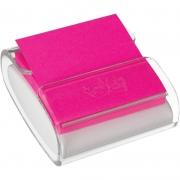 Bloco de Recado Post-It Dispensador Pop Up (Transparente e Branco) - 3M