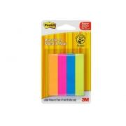 Bloco Marcador de Página Colorido Adesivo Post-It Flags c/180 Fls - 3M