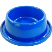 Comedouro Para Pet Antiformiga Azul 550ml