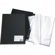 Pasta Catálogo Oficio 10 Envelopes Finos Preta Dac