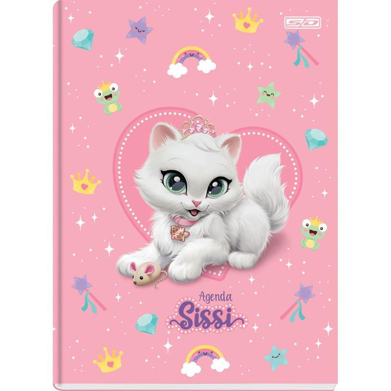 Agenda Permanente Sissi Baby Escolar 64Fls