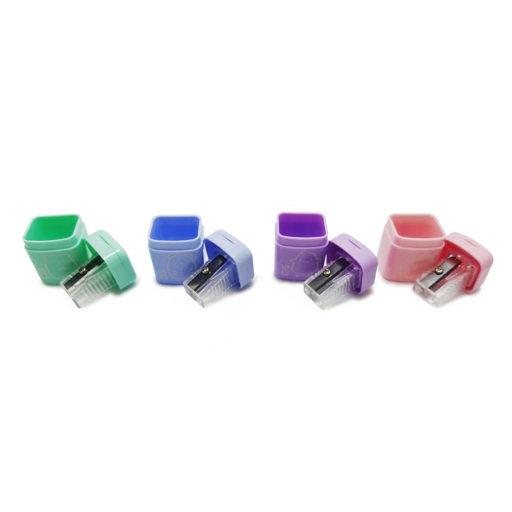 Apontador Com Depósito Cis 415 - 4 Cores Pastel