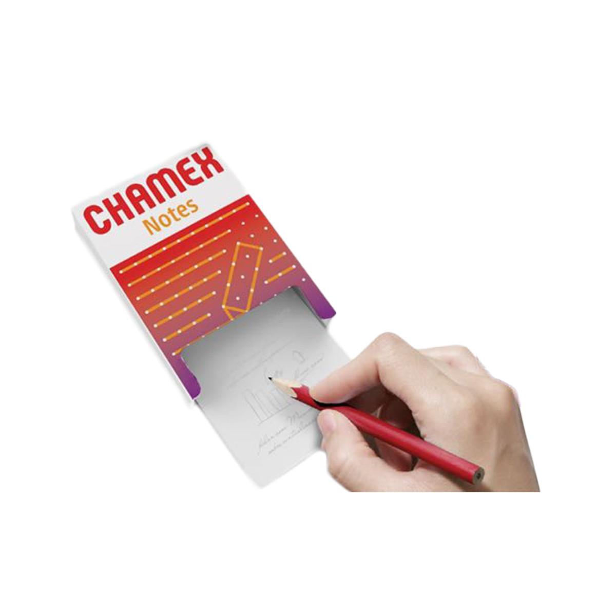 Bloco Para Recado Chamex Notes 80X115mm 300Fls