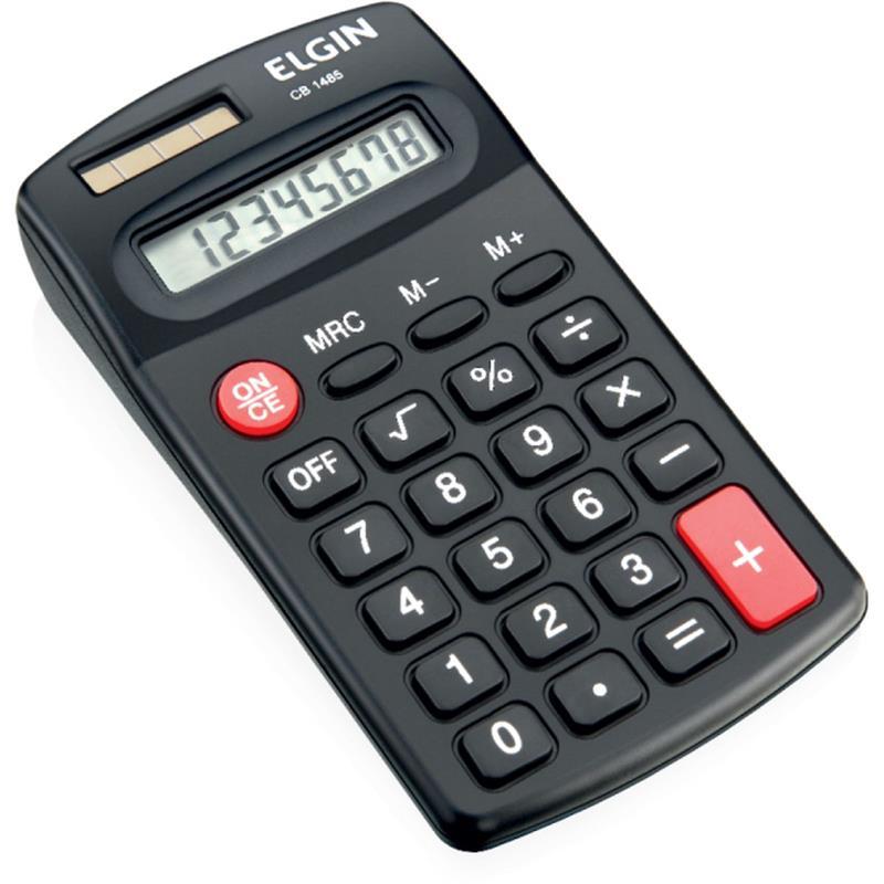 Calculadora de Bolso Com Visor 8 Dígitos - CB1485