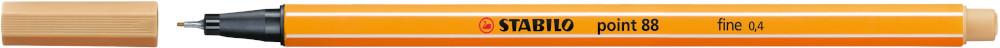 Caneta Stabilo 88-88/8-01 8 Cores Tons Pastel - Sertic