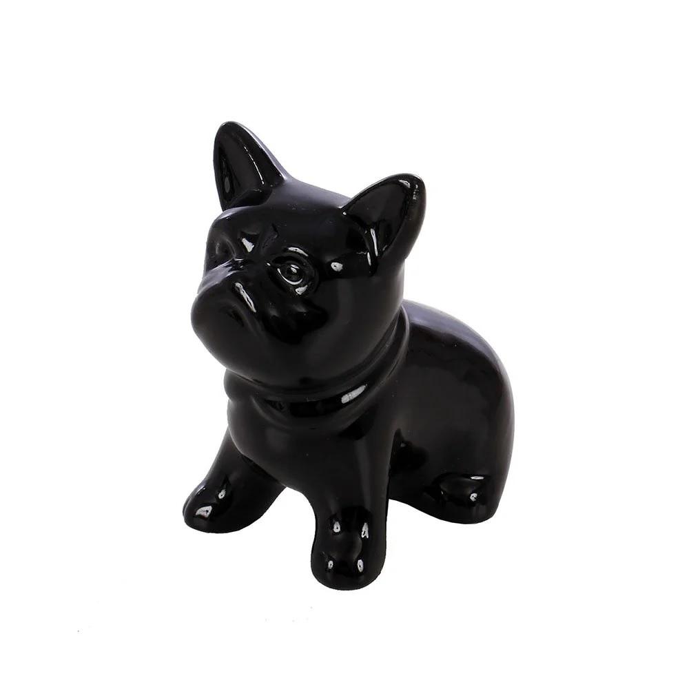 Enfeite Decorativo Porcelana Cachorro 6,5cm