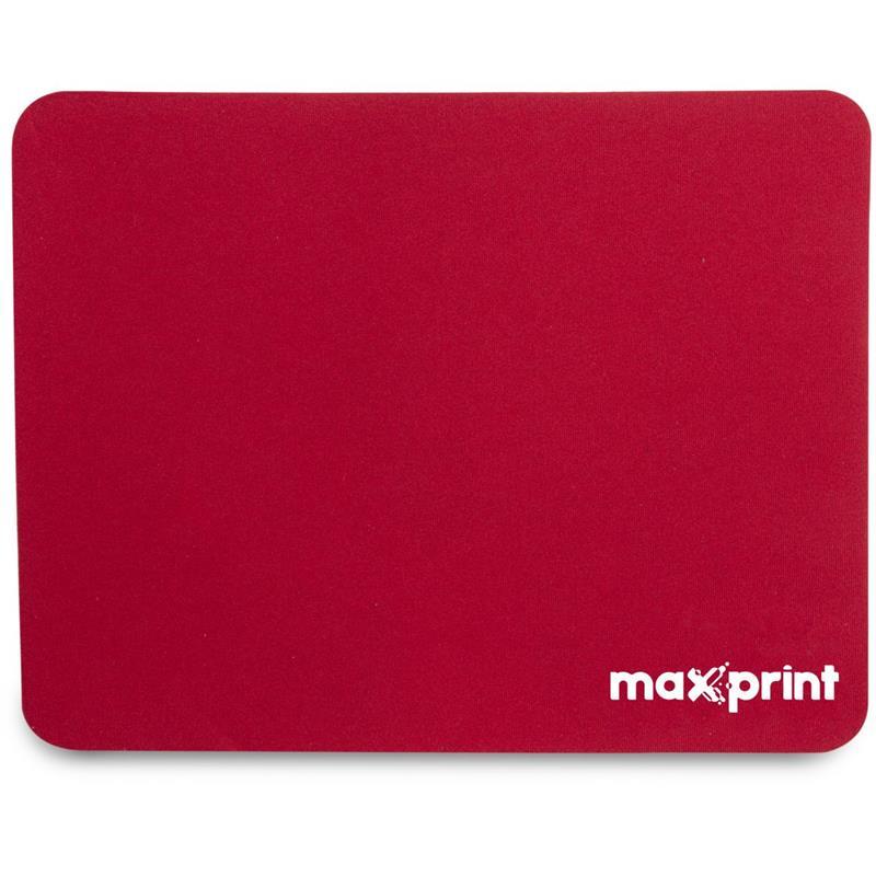 Mouse Pad Tecido Vermelho 220mmX178mm Maxprint