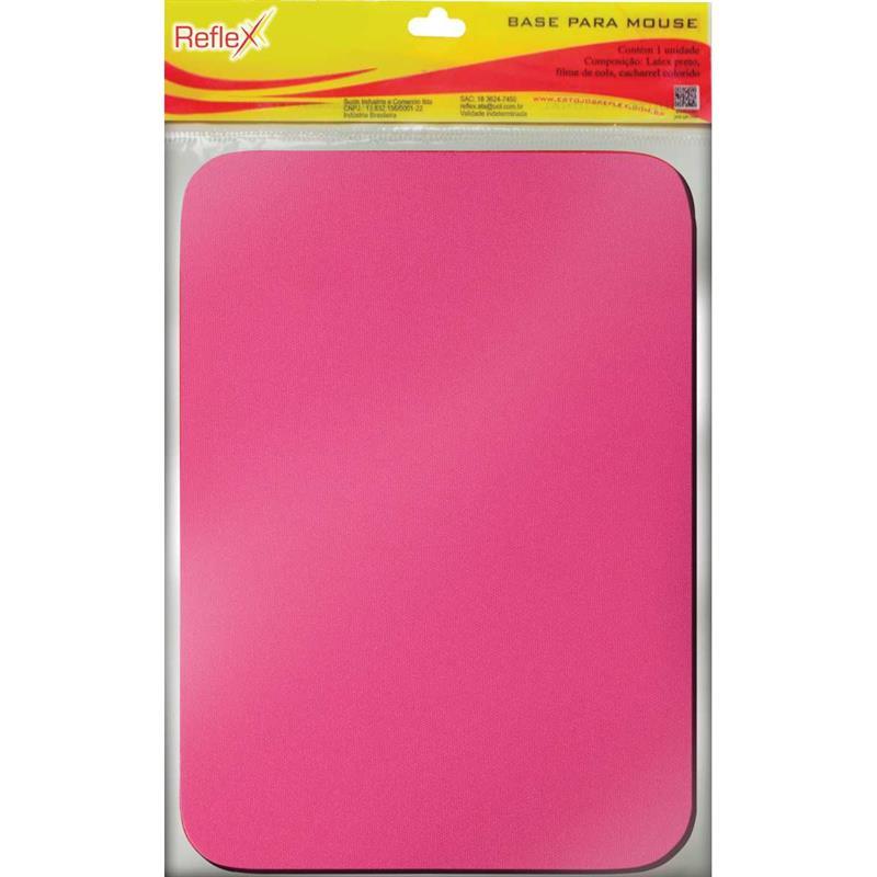 Mouse Pad Tecido Pink Emborrachado