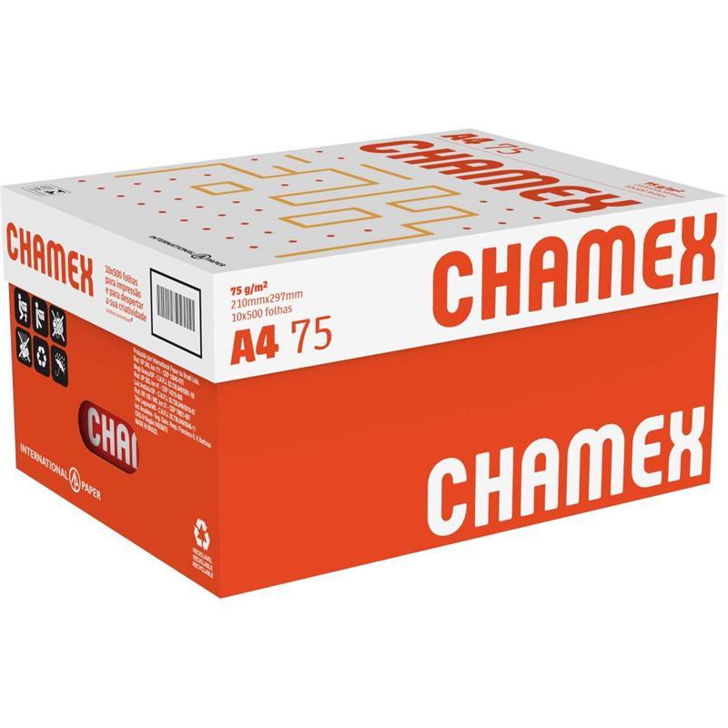 Papel Sulfite A4 Chamex 75g/m² - 500 Folhas