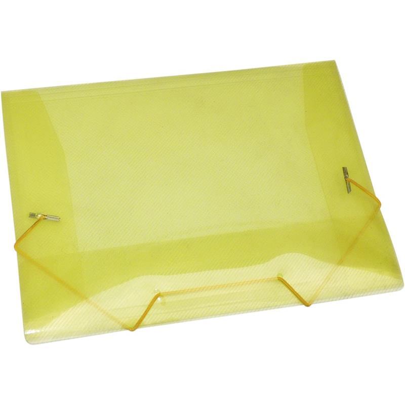 Pasta PP Mini Ofício Amarelo VMP