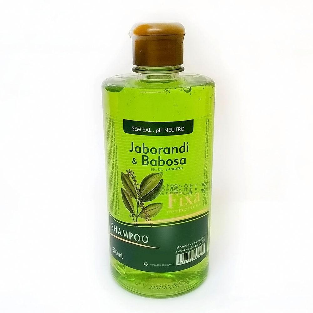 Shampoo Jaborandi com Babosa da Fixa Cosméticos 500ml