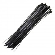 Abraçadeira Nylon Enforca Gato 100X2,5Mm C/100 Preto