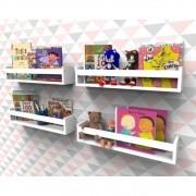 Prateleira para Livros Infantil Montessoriano 40cm - 4 peças
