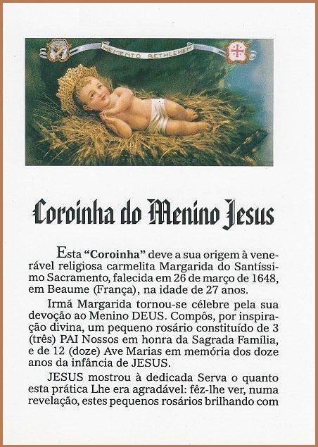 Coroinha do Menino Jesus - Novo